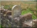 NY0420 : Parish Boundary Stone by Matthew Hatton