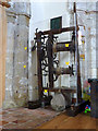 SK5526 : Old clock mechanism, St Mary's Church, East Leake by Alan Murray-Rust