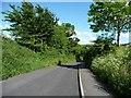 SU0154 : 'Emerge on Drove Lane. Turn left down the hill' by Christine Johnstone