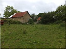 SX6397 : Farm buildings at Aller by David Smith
