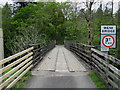 NN3118 : Wooden Bridge across the River Falloch by Chris Heaton