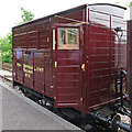 TM1265 : Horsebox, Mid Suffolk Light Railway, Wetheringsett by Roger Jones