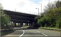 SP0990 : A slip road to the M6 by Steve Daniels