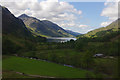 NM9081 : Glenfinnan from the viaduct by Ian Taylor