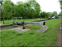 SP7256 : Lock 10, Grand Junction Canal - Northampton Arm by Mr Biz
