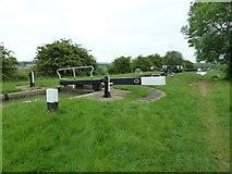SP7256 : Lock 3, Grand Junction Canal - Northampton Arm by Mr Biz