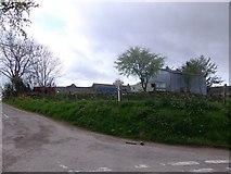 NN9328 : East Buchanty farm by Stanley Howe