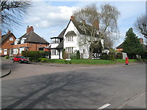 SP0481 : Willow Road southern end-Bournville, Birmingham by Martin Richard Phelan
