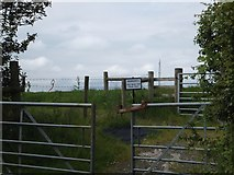 SX6598 : Gate at North Wyke and weather station by David Smith