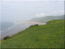 SS4088 : Overlooking Rhossili Bay by Gareth James