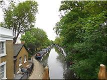TQ2681 : Regent's Canal at Paddington by Paul Gillett