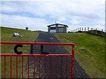 C2347 : Entrance gates, Fanad Head by Kenneth  Allen