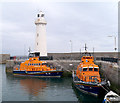 J5980 : Two lifeboats at Donaghadee by Rossographer