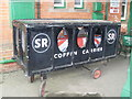 TQ3729 : Coffin Carrier at Horsted Keynes Station by David Hillas