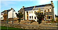 M3610 : County Galway - Two Dwelling Units Under Construction along N67 by Suzanne Mischyshyn