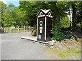 SD3585 : Newby Bridge AA Box at Lakeland Motor Museum by David Dixon