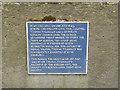 SK2523 : Blue plaque on Burton Bridge by Alan Murray-Rust