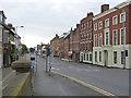 SK2523 : Bridge Street, looking west by Alan Murray-Rust