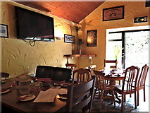 M2208 : County Clare - Ballyvaghan - Monk's Pub & Restaurant Interior - Dining Area by Suzanne Mischyshyn