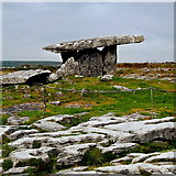 M2300 : County Clare - R480 - Poulnabrone Dolmen (3500 BC) - View to Northeast by Suzanne Mischyshyn
