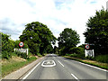 TL8546 : Entering Long Melford on the A1092 Windmill Hill by Adrian Cable