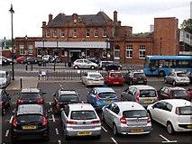 NT9953 : Berwick Railway Station by James Denham