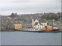HU4741 : Harbour houses by James Allan