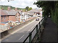 SX9194 : Elevated Pavement along Cowley Bridge Road by Tony Atkin