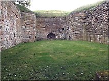 NT9953 : Within Berwick town wall by James Denham