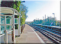 TQ4305 : Southease station, towards Newhaven by Ben Brooksbank