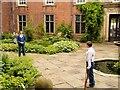 SJ7387 : Inner Courtyard, Stamford Military Hospital by David Dixon