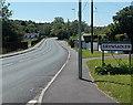ST0381 : NE boundary of Brynsadler by Jaggery