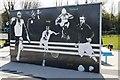 SP5308 : Wall at the Gym by Bill Nicholls