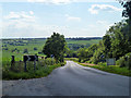SP8321 : Road from Cublington to Whitchurch by Robin Webster