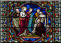 SK9771 : Detail, Stained glass window, n.XLII, Lincoln Cathedral by J.Hannan-Briggs