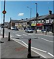 ST0381 : Zebra crossing, Cowbridge Road, Pontyclun by Jaggery