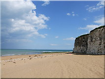 TR4070 : Beach at Joss Bay by Chris Whippet