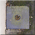 J3652 : Drain cover, Ballynahinch by Rossographer