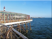 SD3036 : Sun lounge at Blackpool North Pier by Gerald England