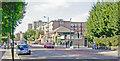 TQ3387 : Amhurst Park at Stamford Hill station by Ben Brooksbank