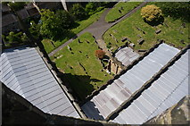 SK2168 : Roof of All Saints Church, Bakewell by Peter Barr