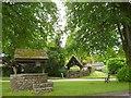 ST3794 : Village well, Tredunnock by Robin Drayton