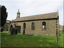 SD7656 : The Church of St Bartholomew at Tosside by Peter Wood