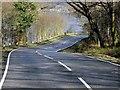 NM9643 : A828 nearing Loch Creran by David Dixon