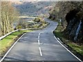 NM9643 : A828, Loch Creran by David Dixon
