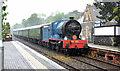 J4582 : Steam locomotive no 85, Helen's Bay - June 2014(1) by Albert Bridge