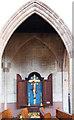 SP0884 : St Agatha, Sparkbrook - Calvary by John Salmon