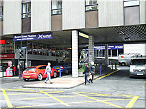 NS5965 : Queen Street railway station by Thomas Nugent