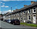 ST0381 : Row of houses in School Street, Pontyclun by Jaggery