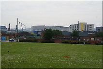 NZ4920 : Looking east from Feversham Street, Middlesbrough by Ian S